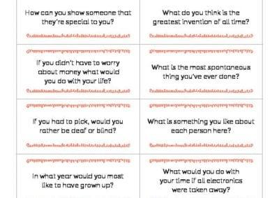 Conversation Starters: August