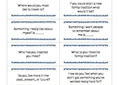 Conversation Starters: January