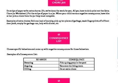 Correcting Behaviors: Ideas