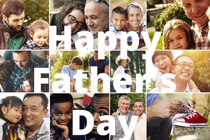 What would we do without Dad? Happy Father's Day