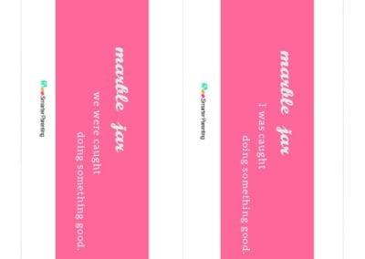 Effective Praise: Marble Jar Pink Bar