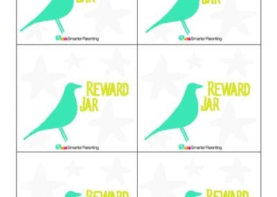 Effective Praise: Reward Jar Blue Bird