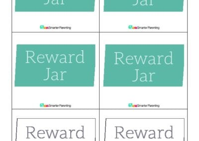 Effective Praise: Reward Jar Green Box