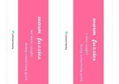 Effective Praise: Warm Fuzzies Pink Bar