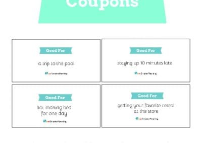 Behavior Coupons: Blue