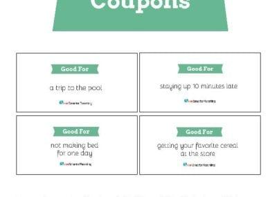 Behavior Coupons: Green