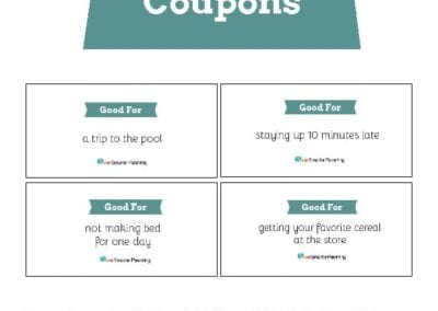 Behavior Coupons: Teal