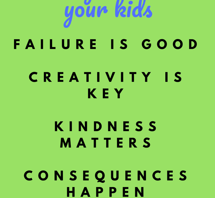 The parenting advice you really need: 5 things to teach your kids