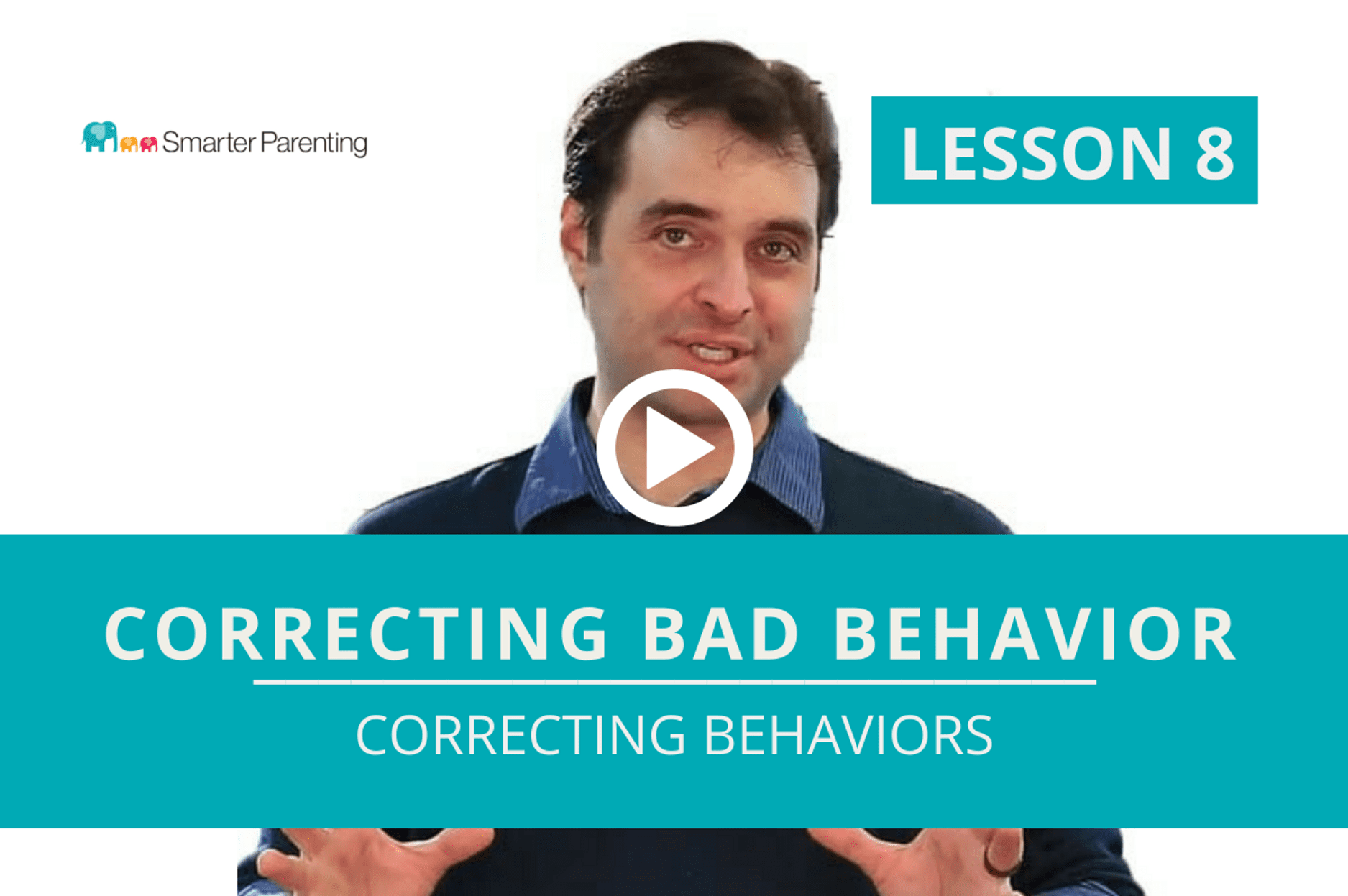 Correcting Behaviors lesson link