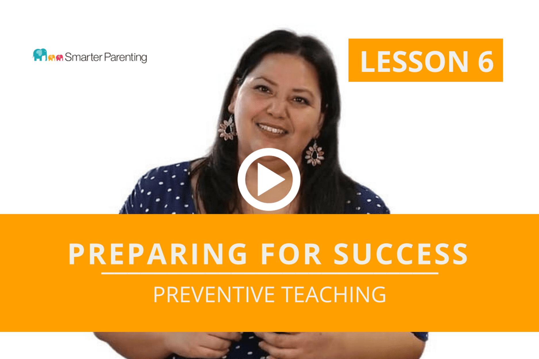 Preventive Teaching lesson link