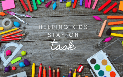 Helping kids stay on task